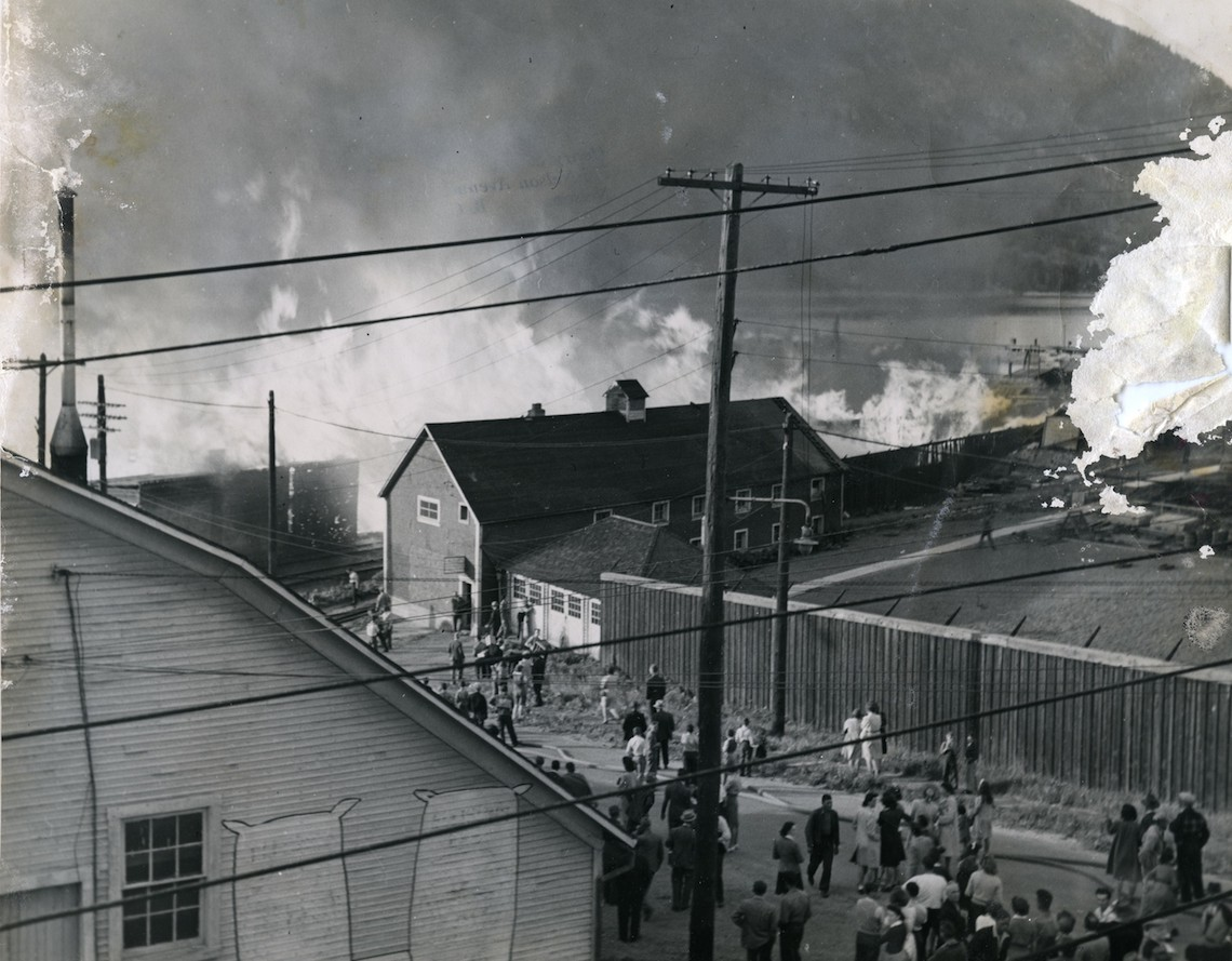 Possibly The 1952 Sash And Door Fire.